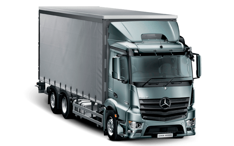 Mercedes-Benz Antos Distribution